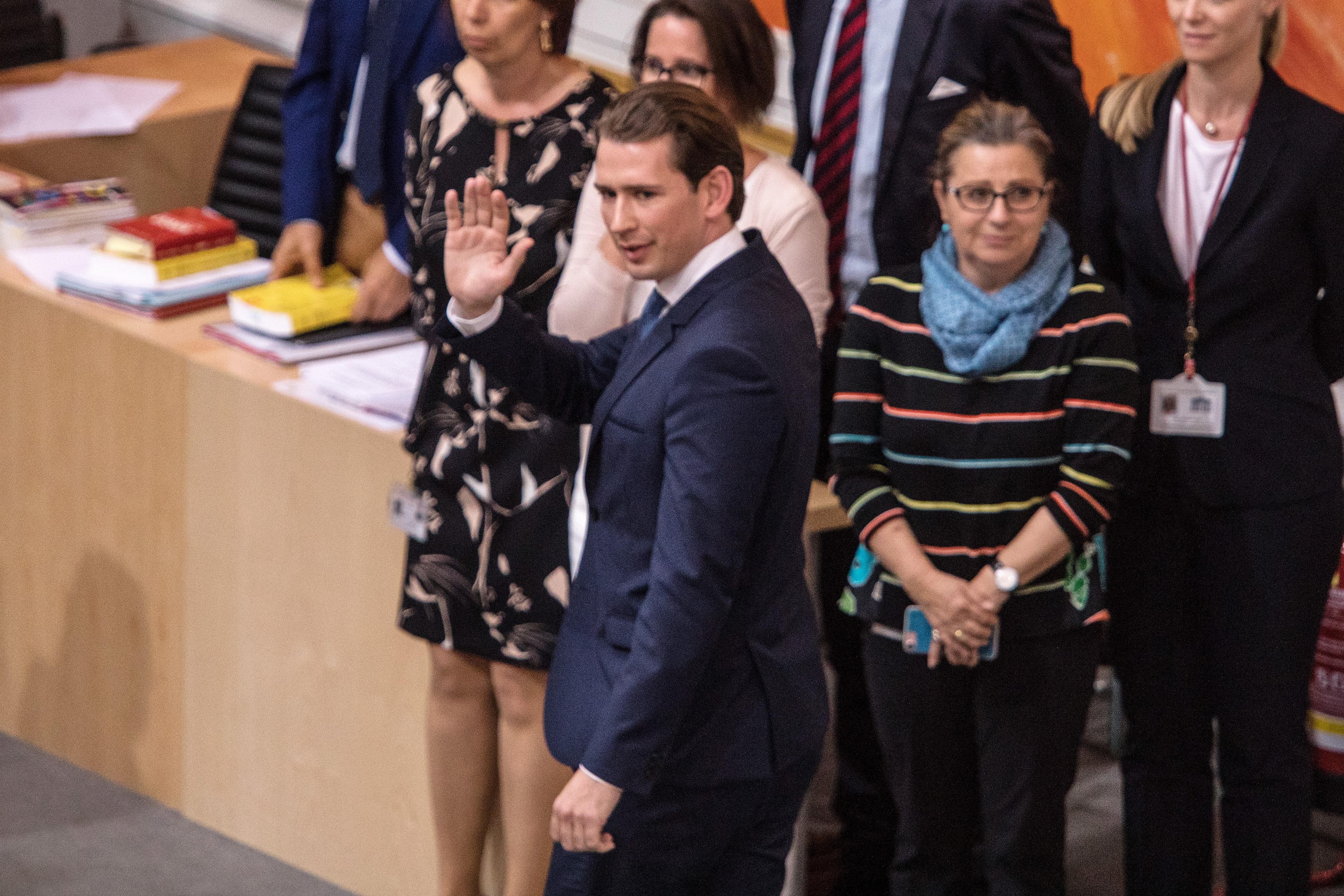 奥地利国民议会 罢免总理库尔茨及政府