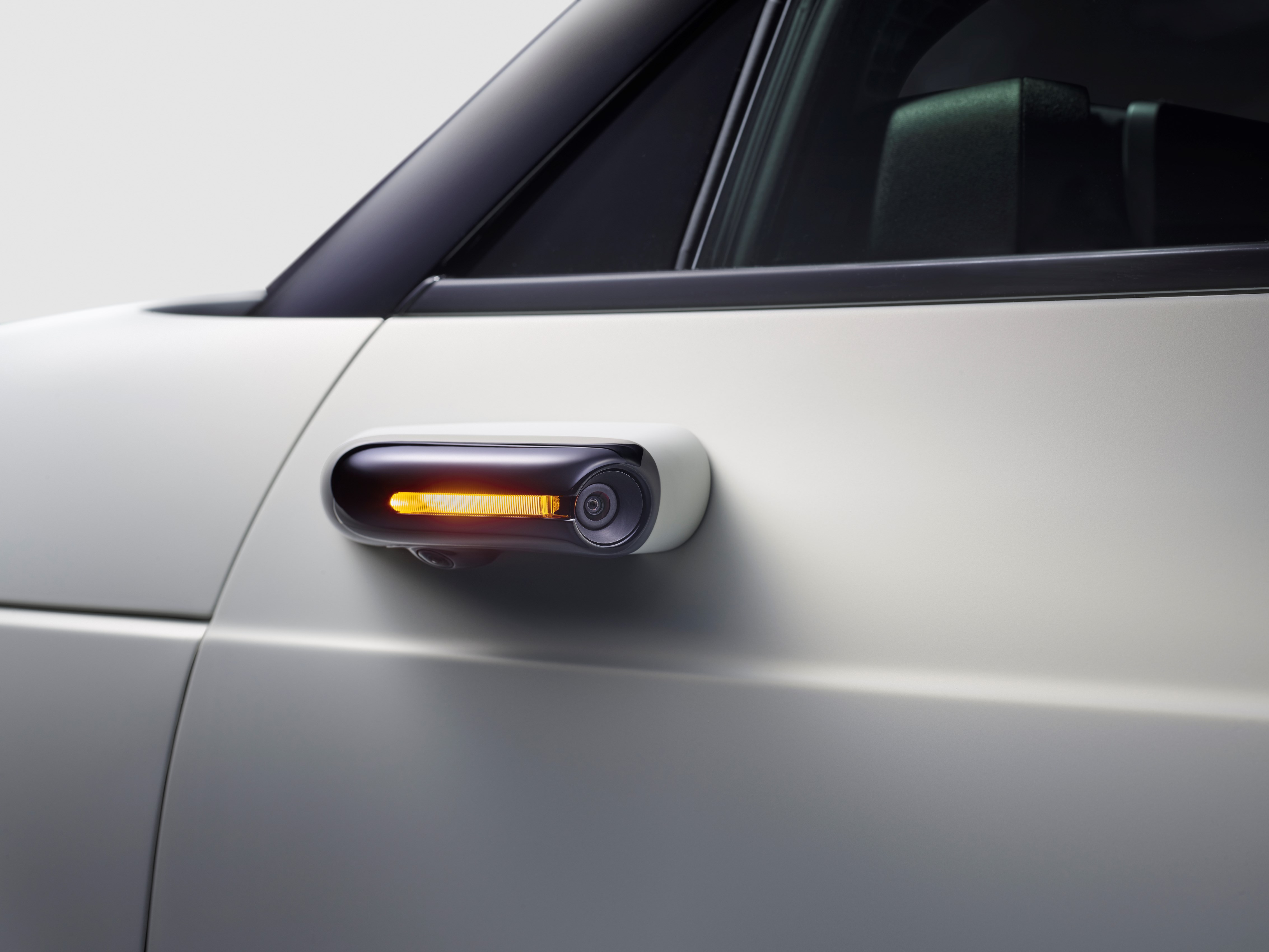 The all-electric Honda e is bringing its side view mirrors inside