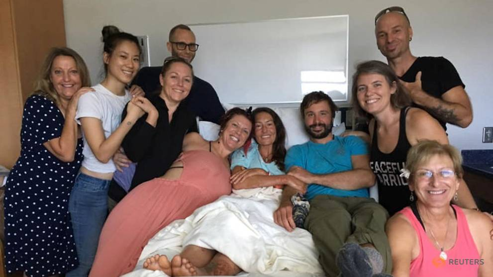 Yoga instructor recounts 'spiritual' ordeal of survival while lost in Hawaii forest reserve