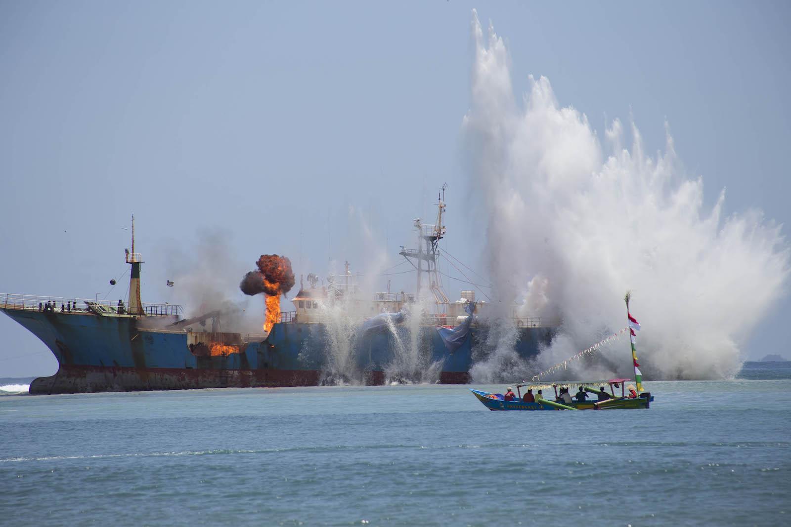Aloof Indonesia wades into South China Sea fray