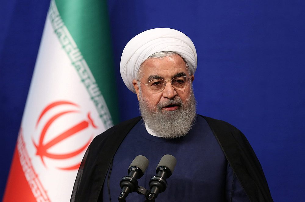 Iranian president says talks possible only if Washington shows 'respect'