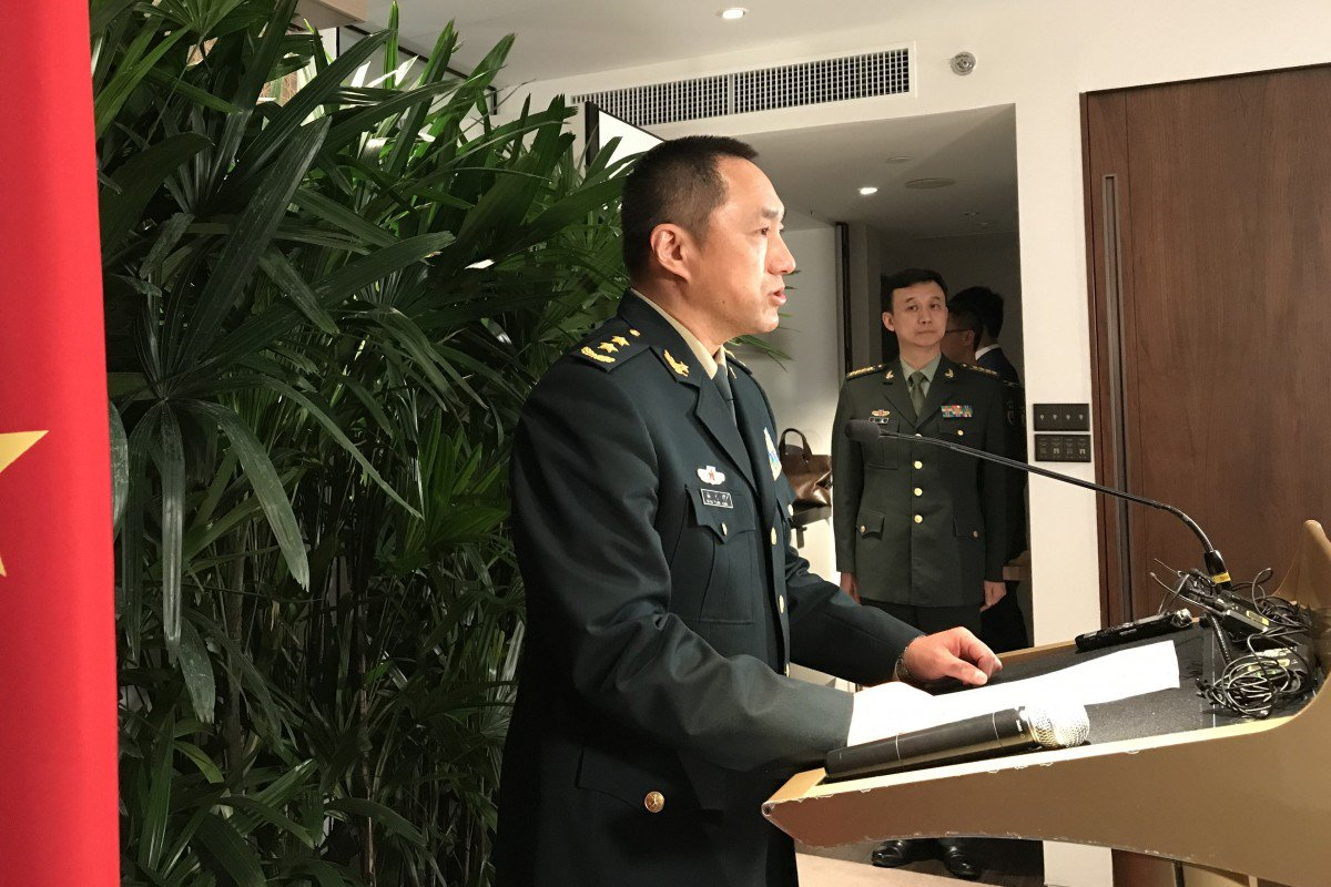 Chinese general tells US to stop using Taiwan, South China Sea to stir up trouble