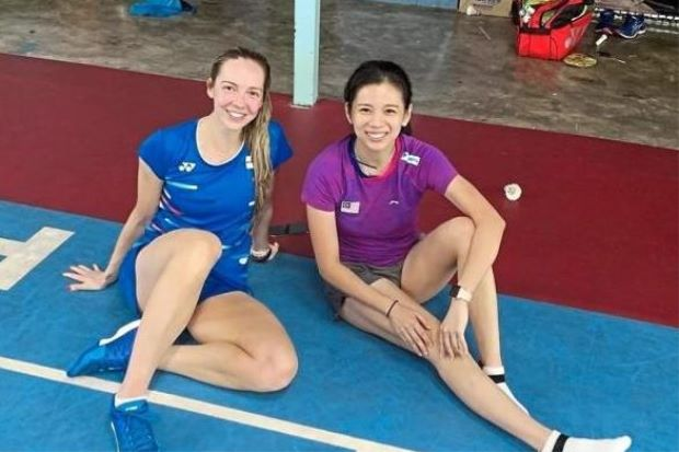 Peng Soon-Liu Ying train with rivals ahead of Aussie Open