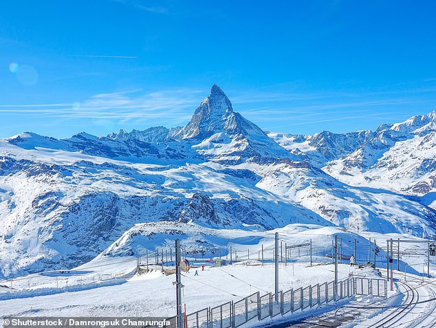 British climber, 24, dies 11,000ft up the Swiss Matterhorn after being struck by a falling rock during a night-time descent