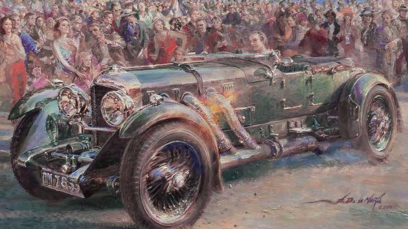 Classic Bentleys Set To Dominate 2019's Pebble Beach Concours