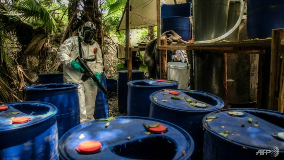 Three large meth labs dismantled in Mexico