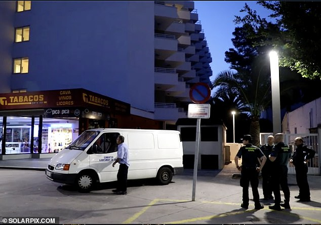 British tourist, 20, falls to his death from second floor of Magaluf hotel at 3am