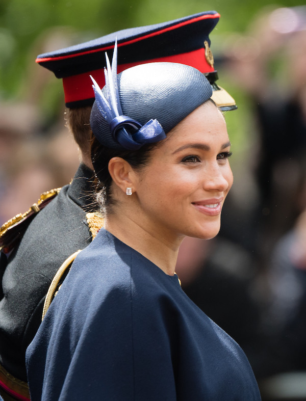 Meghan Markle Looks Radiant During First Public Appearance After Giving Birth
