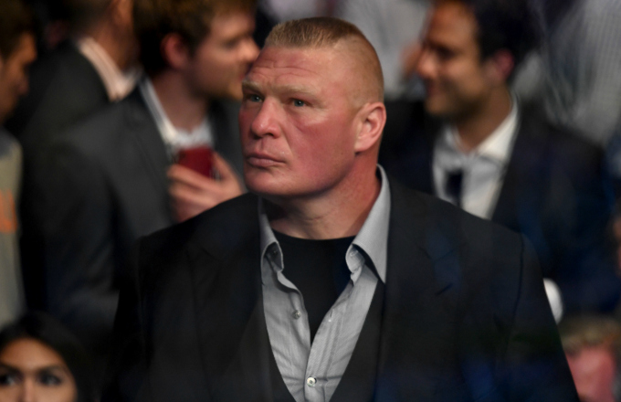 Dana White Says Brock Lesnar Is 'Done' With the UFC