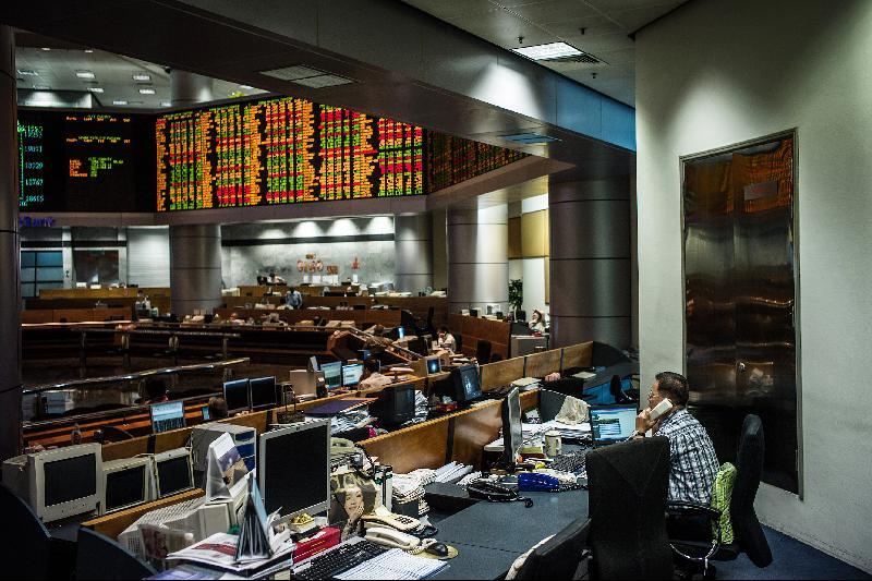 亚股市谨慎走高‧马股收市小涨3.16点