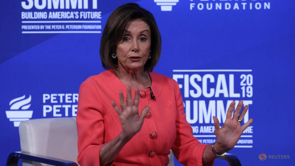 Pelosi is so 'done' with Trump, the 'diverter in chief'
