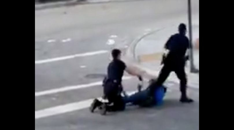 Cop accidentally tasers partner instead of criminal