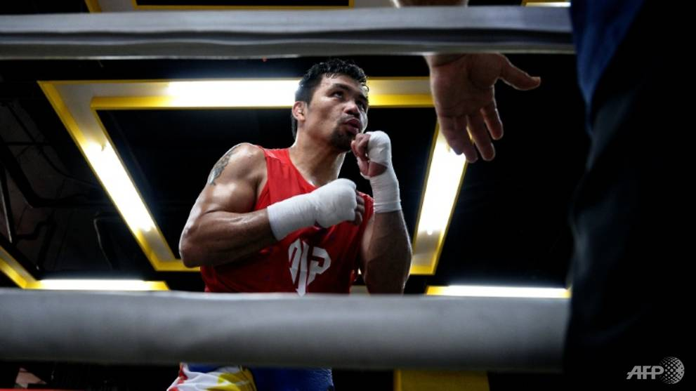 Boxing: Arum fears brain damage for veteran Pacquiao