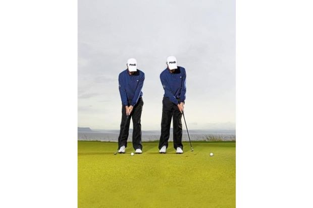 Make your total putts in around 200 feet