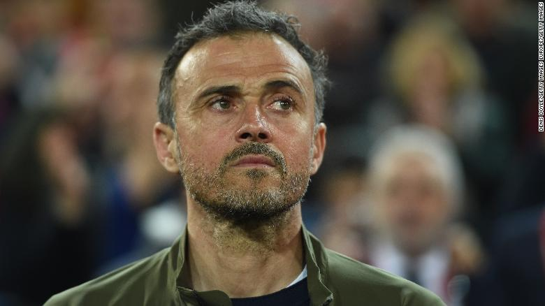 Luis Enrique resigns as coach of Spanish national team
