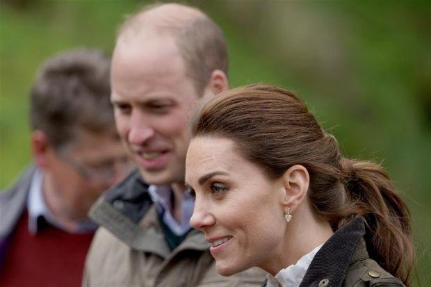 Kate and William's police convoy hits UK pensioner