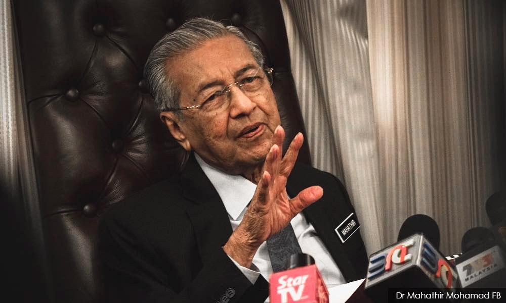 'Pariah' term not directed at anyone, says Mahathir