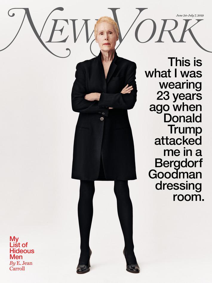 女作家爆23年前遭特朗普性侵·特朗普:她是为了推销新书