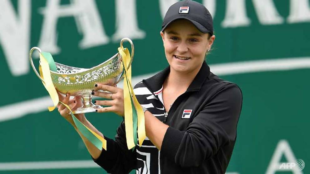 Tennis: Australian Barty becomes women's world number one