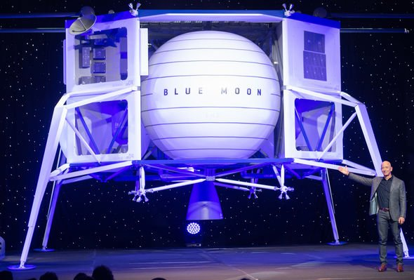 Blue Origin Moon mission: Blue Moon BE-7 rocket engine aces first test