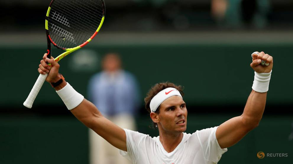 Tennis: Wary of past pain, Nadal eyes third Wimbledon title