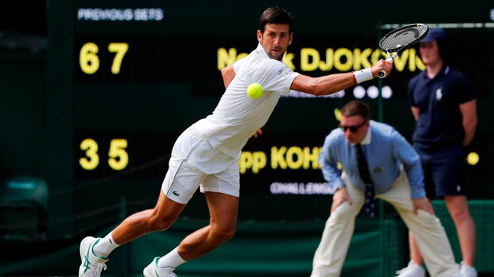 Tennis: Wimbledon champion Djokovic off to winning start