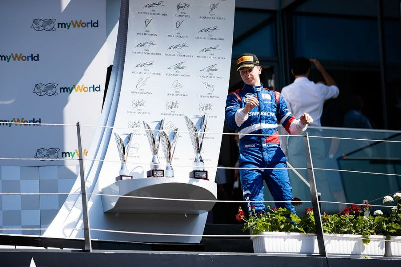 "Armstrong ""glad"" fellow Ferrari junior Shwartzman was penalised"
