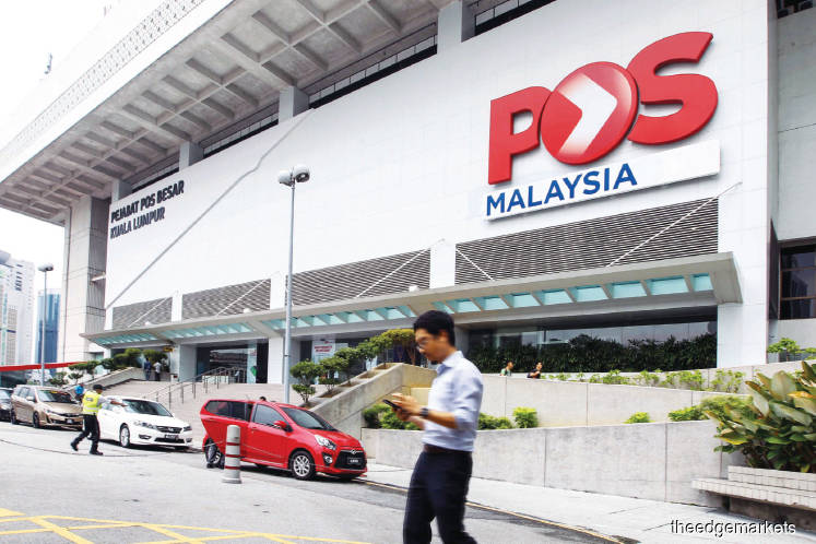 Pos Malaysia's accumulated losses swell to RM215m with fifth straight quarter in the red