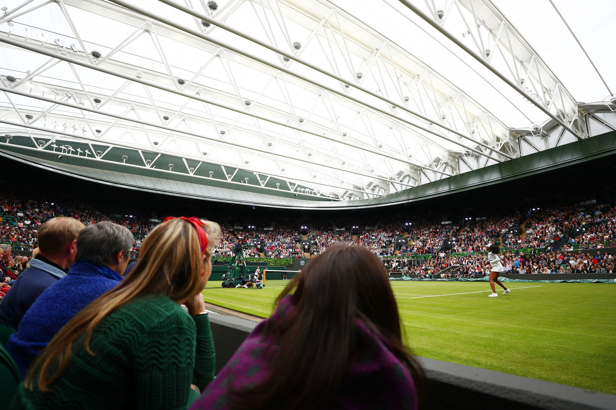 Wimbledon, Wedded to Tradition, Steps Into the Present