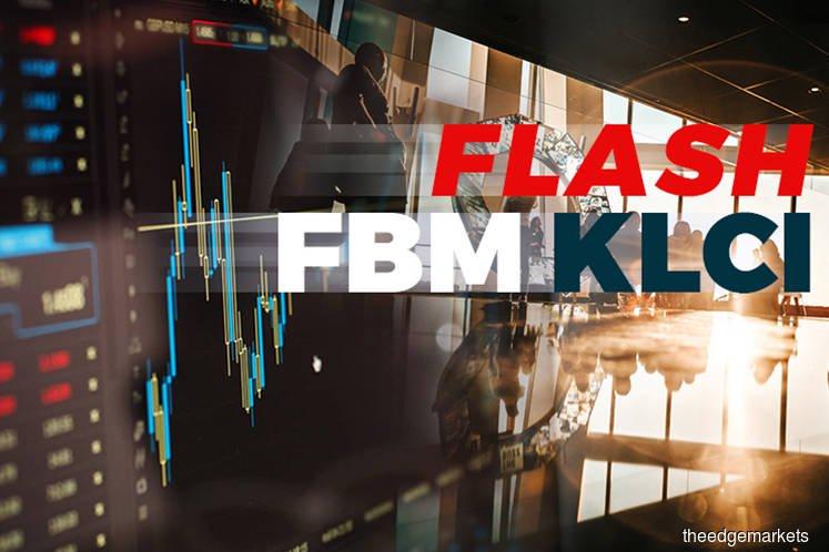 FBM KLCI closes up 4.97 points at 1,556.84