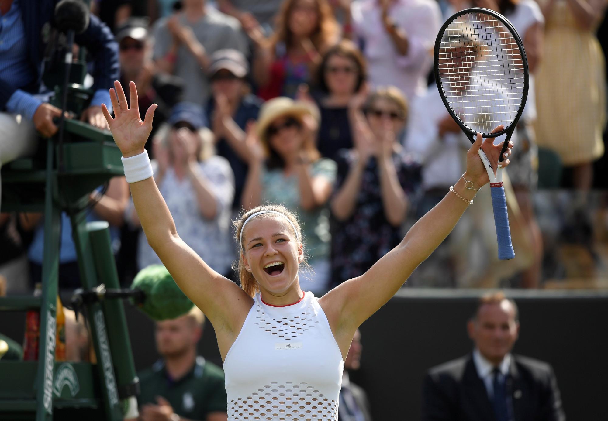 【温布顿网球公开赛】女单前六种子出局 小威强势杀入八强