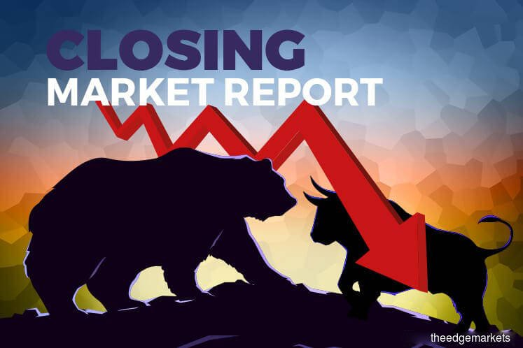 KLCI down, oil up amid Middle East geopolitical fears
