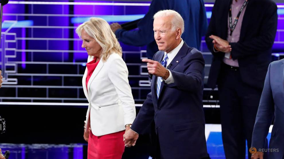 Biden and wife made more than US$15m in last two years