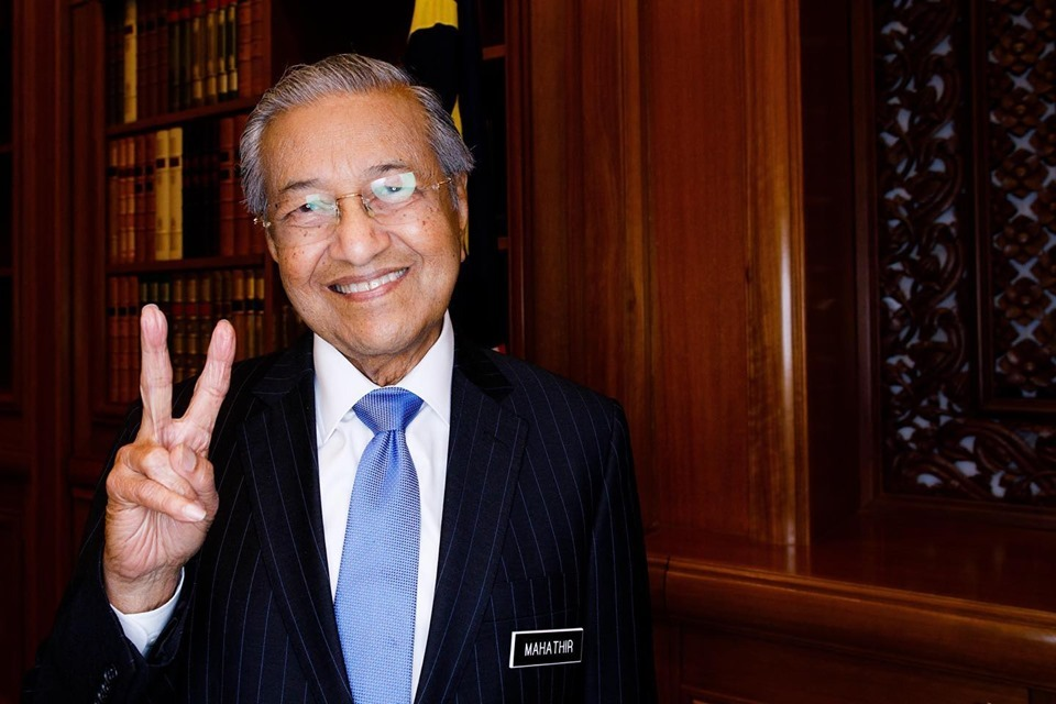 Mahathir in good health, just a slight nose bleed