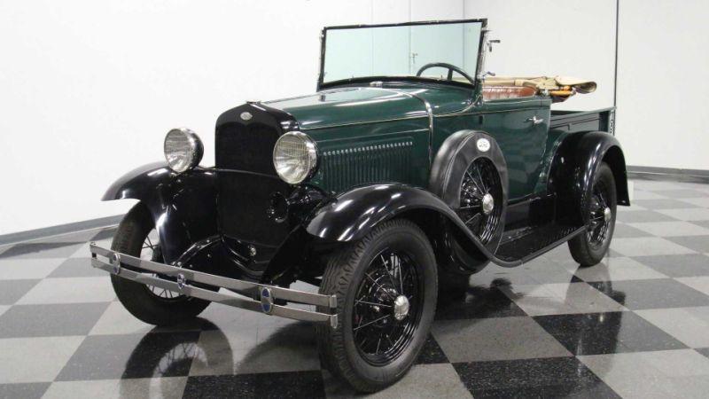 Super Rare, Clean Find: 1931 Ford Model A Roadster Pickup