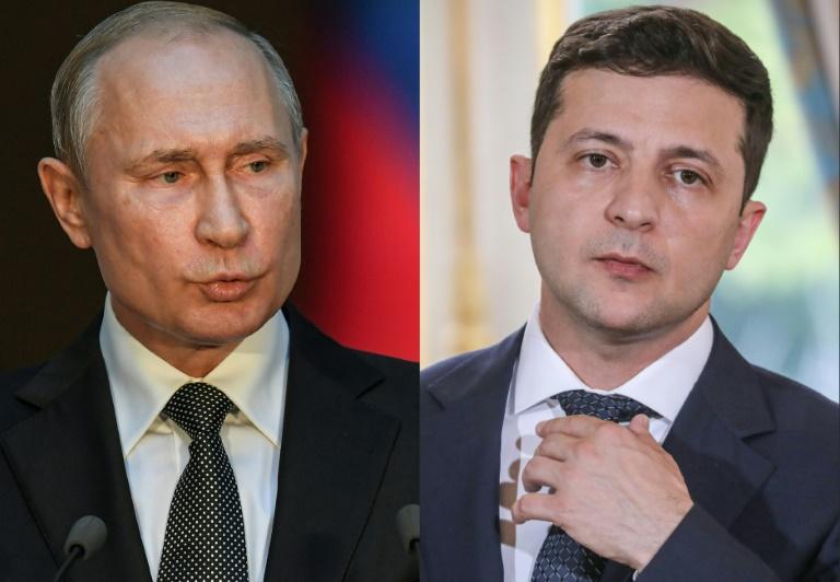 Putin, Zelensky discuss east Ukraine conflict in first phone call: Kremlin