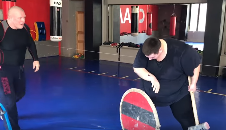 MMA Fighter Mad Max Accidentally Stabs Training Partner With An Axe