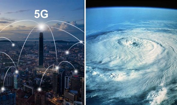 5G danger of death: New mobile phone signal 'threat to extreme weather warning systems'