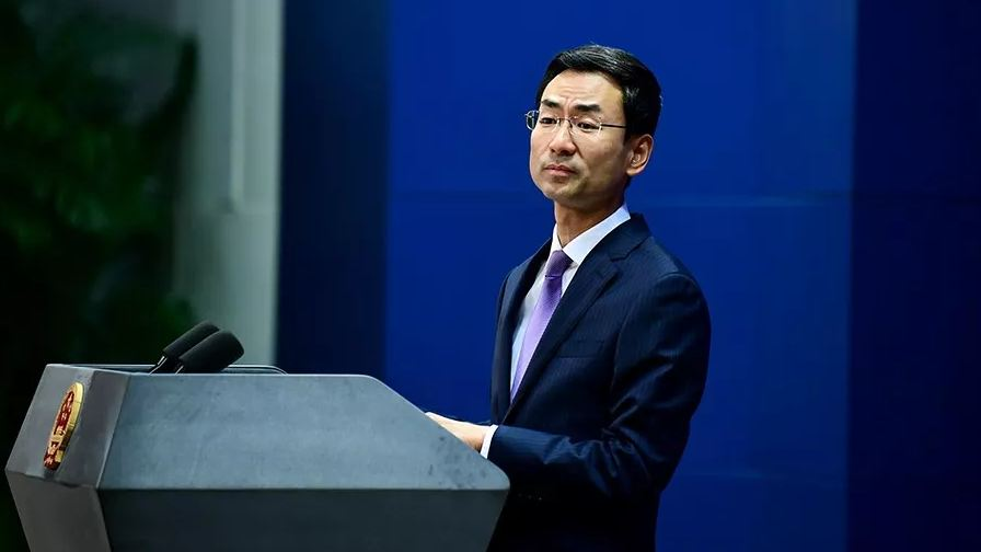外交部:将对参与此次售台武器美国企业实施制裁
