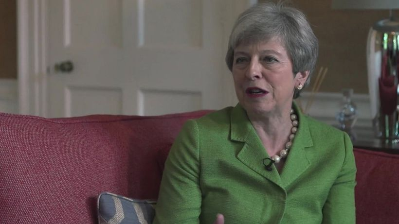 Theresa May speaks of 'pride and disappointment' as prime minister