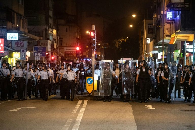Clashes at latest Hong Kong anti-extradition March