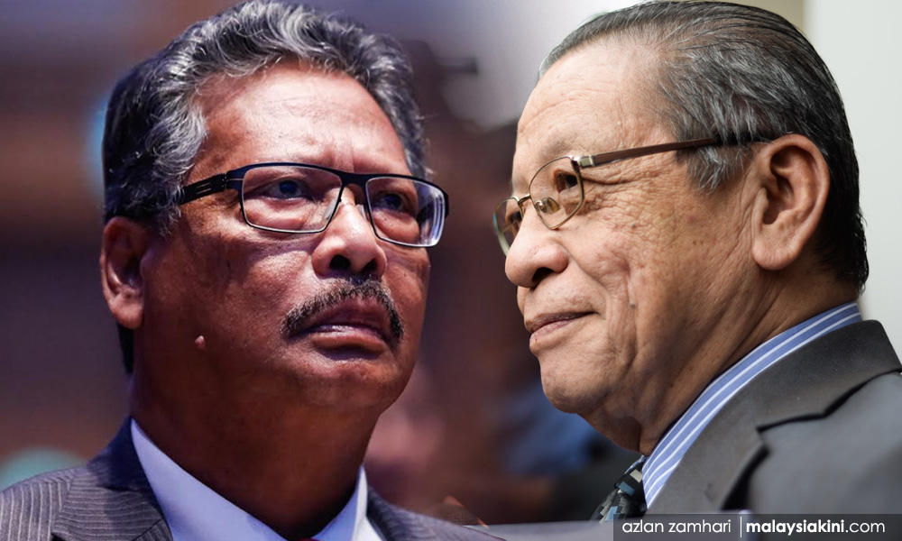RM10m defamtion suit - Apandi wants portions of Kit Siang's defence removed