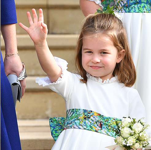 All of the Times Princess Charlotte Looked Just Like Queen Elizabeth
