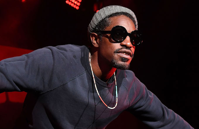 André 3000 Recently Spotted Around Philadelphia Playing His Double Flute