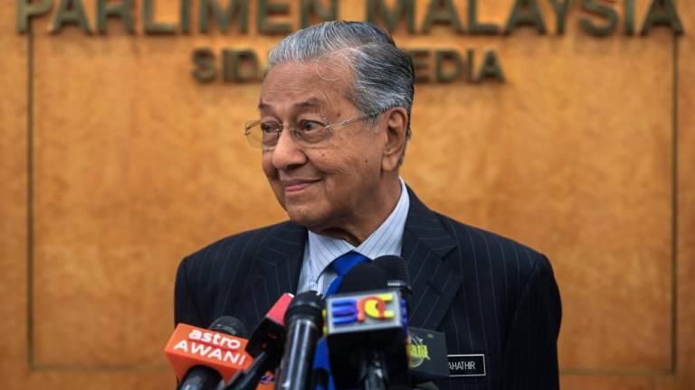 Don't let petty issues affect racial harmony: Mahathir