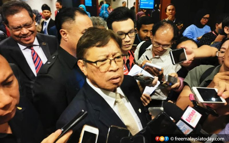 GPS prefers to be on its own, says Abang Jo