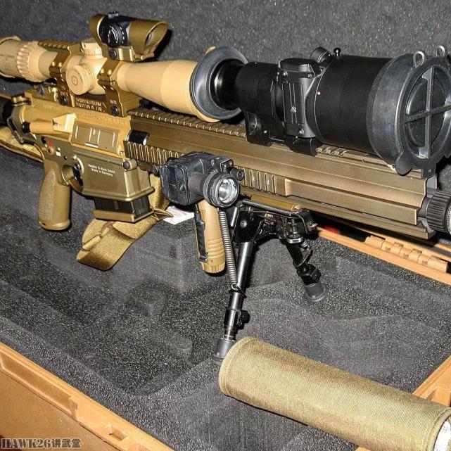德军满配G28狙击步枪是什么样?黑克勒-科赫定制顶级瞄准镜
