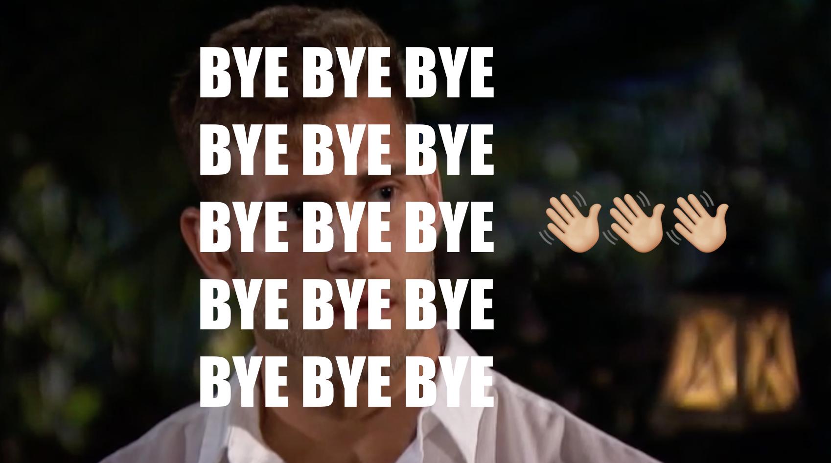 The Bachelorette recap: Luke who's leaving (finally)