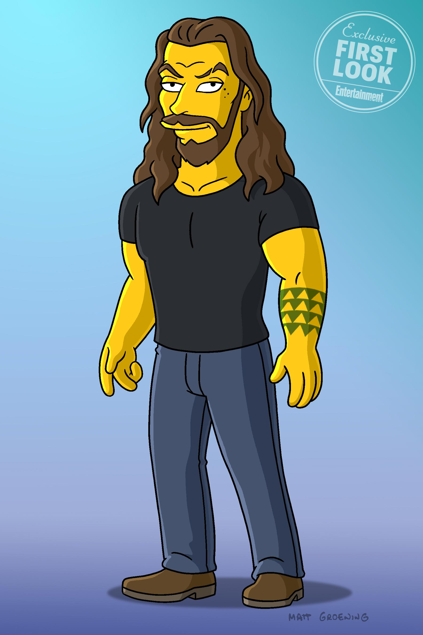 Game of Thrones alum Jason Momoa to guest on The Simpsons: First look