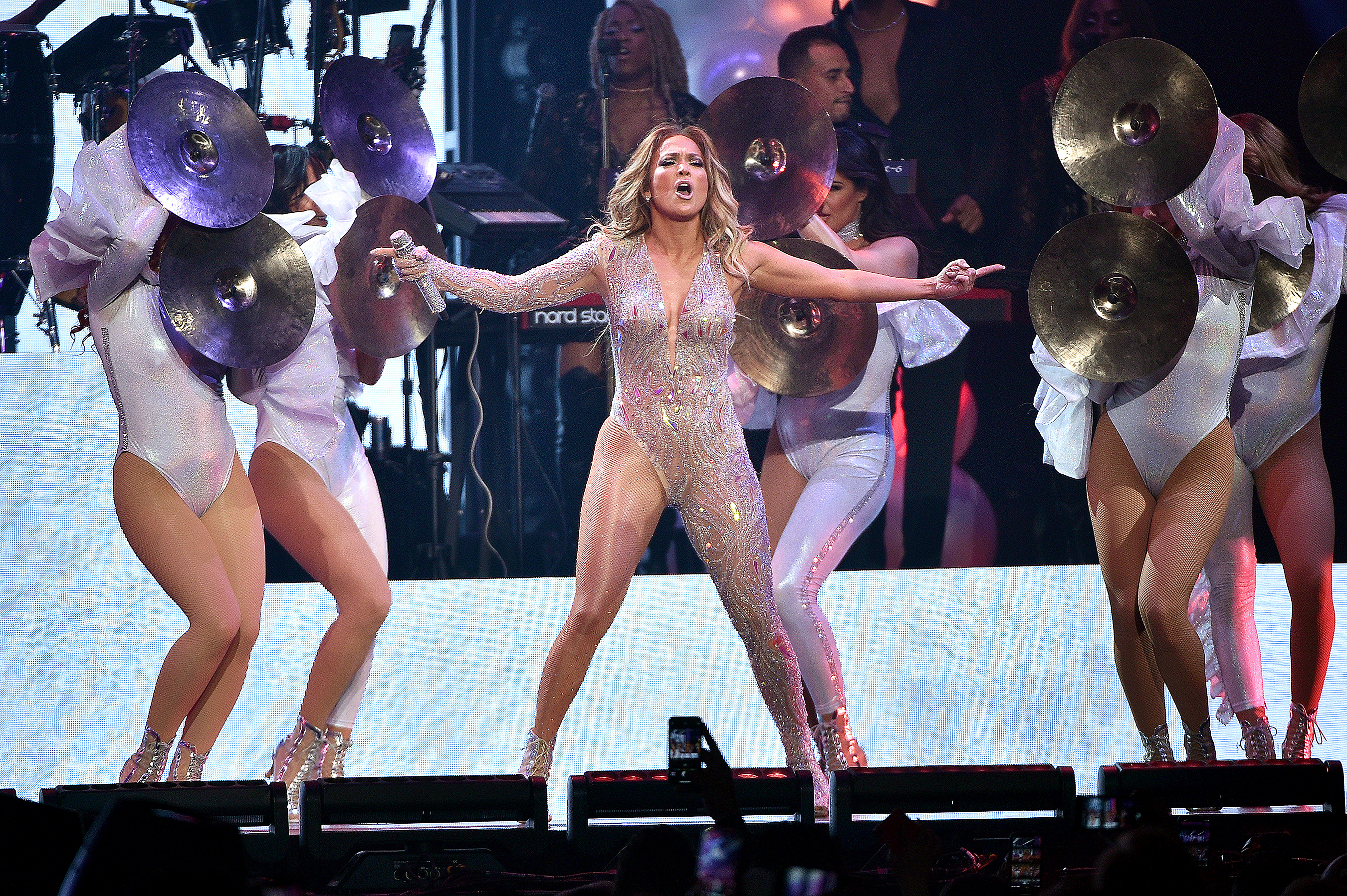 Jennifer Lopez 'devastated' after blackout shuts down New York concert